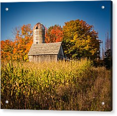 Wildwood Farm In Fall Acrylic Print