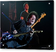 Willie Nile Acrylic Print by Jeff Ross