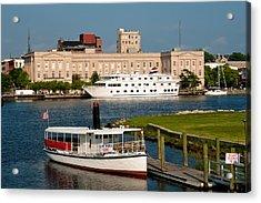 Wilmington Water Front Acrylic Print by Denis Lemay