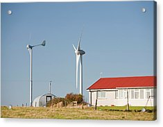 Wind Power Acrylic Print by Ashley Cooper