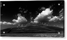 Windmill Electric Power Station Acrylic Print