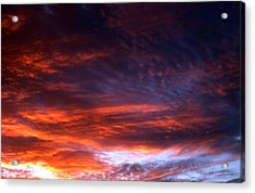 Windows Of Heaven Acrylic Print by Julia  Walsh