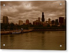 Windy City Acrylic Print
