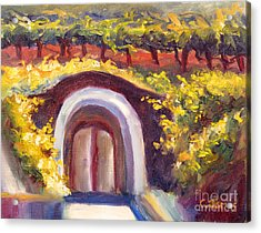 Wine Cave Acrylic Print