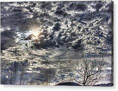 Winter Sky Acrylic Print by Tom Culver
