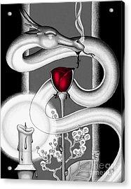 With Love II Acrylic Print by Robert Ball