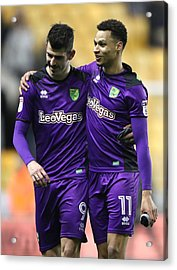 Wolverhampton Wanderers V Norwich City - Sky Bet Championship - Molineux Acrylic Print by Nick Potts - PA Images