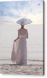 Woman At The Beach Acrylic Print by Joana Kruse