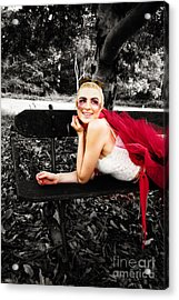 Woman In Tutu Acrylic Print by Jorgo Photography - Wall Art Gallery