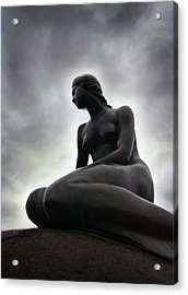 Woman Standing Strong Acrylic Print