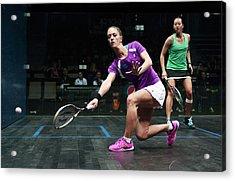 Women's World Team Squash Championship 2014 Acrylic Print by Vaughn Ridley