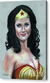 Wonder Woman Acrylic Print