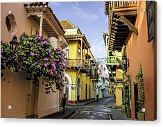 Wonderful Spanish Colonial Architecture Acrylic Print by Jerry Ginsberg