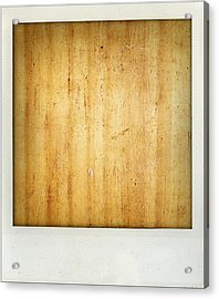 Wood Texture Acrylic Print by Les Cunliffe