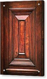 Wooden Panel Acrylic Print