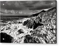 Woolacombe To Morte Point Acrylic Print by Pete Hemington