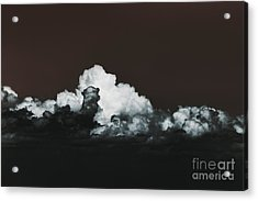 Acrylic Print featuring the photograph Words Mean More At Night by Dana DiPasquale