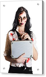 Workplace Bullying And Harassment Victim  Acrylic Print