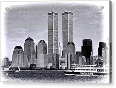 World Trade Center 3 Acrylic Print