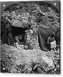 World War I Camp, C1917 Acrylic Print by Granger
