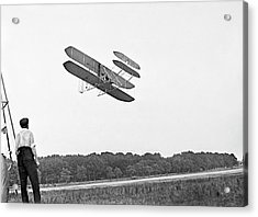 Wright Military Flyer Acrylic Print by Library Of Congress