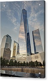 Wtc 911 Ground Zero Acrylic Print