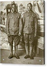 Wwi Soldier, C1916 Acrylic Print
