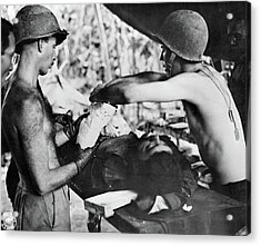 Wwii New Guinea, C1943 Acrylic Print by Granger