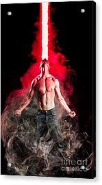 X-men Cyclops  Acrylic Print by Jt PhotoDesign