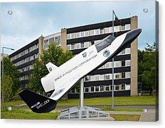 Xcor Lynx Commercial Rocketplane Acrylic Print by Detlev Van Ravenswaay