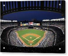 Yankee Stadium 2 Acrylic Print by Allen Beatty