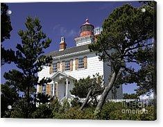 Yaquina Bay Lighthouse Acrylic Print
