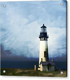 Yaquina Head Light Acrylic Print