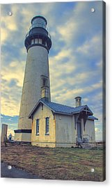 Yaquina Head Lighthouse Acrylic Print by Cathy Anderson