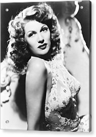 You Were Never Lovelier, Rita Hayworth Acrylic Print by Everett