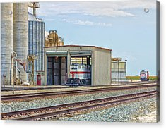 Foster Farms Locomotives Acrylic Print