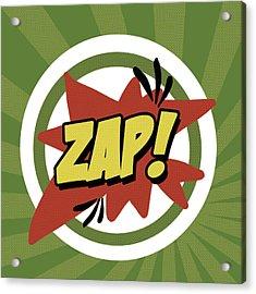 Zap Acrylic Print