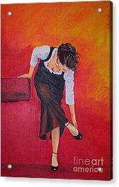 Zapatos I Acrylic Print