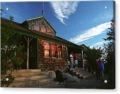 Zealand Falls Hut Acrylic Print