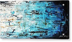 Abstract Painting  Acrylic Print by Jolina Anthony