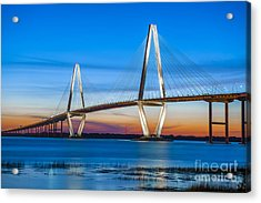 Charleston Arthur Ravenel Bridge Acrylic Print