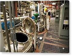 Biofuel Research Acrylic Print by Jim West