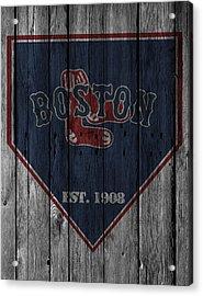 Boston Red Sox Acrylic Print by Joe Hamilton