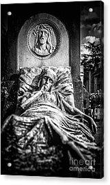 Cemetery Of Mantova Acrylic Print