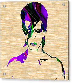 David Bowie Collection Acrylic Print by Marvin Blaine