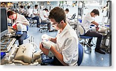 Dentistry Training Acrylic Print by Gustoimages