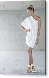 Fashion Girl Acrylic Print