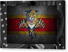 Florida Panthers Acrylic Print by Joe Hamilton