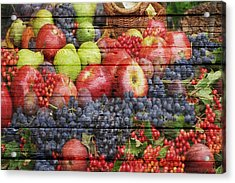 Fruit Acrylic Print by Joe Hamilton