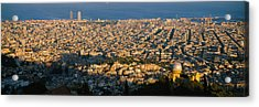 High Angle View Of A Cityscape Acrylic Print by Panoramic Images